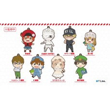 """Cells at Work!"" Trading Rubber Strap(1 Random Blind Box)"
