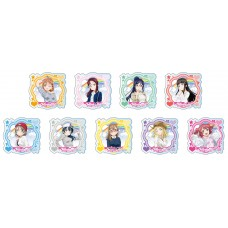 Love Live! Sunshine!! Acrylic Badge Casual Wear ver 9Pack BOX(Pre-order)