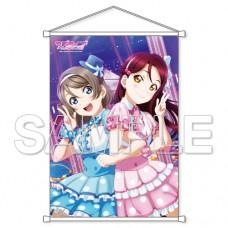"""""""Love Live! Sunshine!!"""" B2 Wall Scroll Riko Sakurauchi & You Watanabe"""