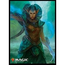 """MAGIC: The Gathering"" Players Card Sleeve Ravnica Allegiance Frilled Mystic MTGS-078"