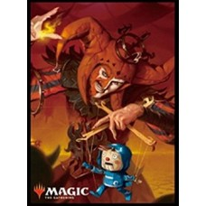 """MAGIC: The Gathering"" Players Card Sleeve Ravnica Allegiance Cult Guildmage MTGS-0799"