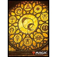 """MAGIC: The Gathering"" Players Card Sleeve Ravnica Allegiance Glass of the Guildpact MTGS-080"