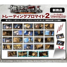 """""""Attack on Titan"""" Trading Bromide 2 12Pack box"""