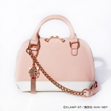 """Cardcaptor Sakura: Clear Card Arc"" Kinomoto Sakura Model 2WAY Hand Bag Pastel Pink"