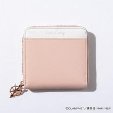 """Cardcaptor Sakura: Clear Card Arc"" Kinomoto Sakura Model Bicolor Half Wallet Pastel Pink"