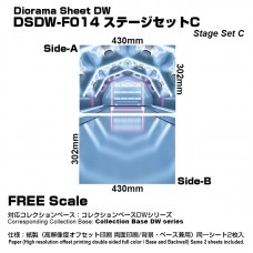 Diorama Sheet DW F014 Stage Set C