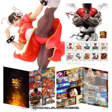 """Street Fighter"" 30th Anniversary Frame Stamp Set"