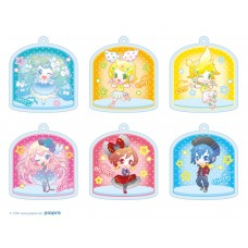 """Hatsune Miku"" Acrylic Key Chain Collection 80's Idol 6pack box"