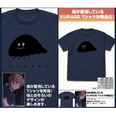 Bloom Into You Yuu's KURAGE T-shirt/INDIGO