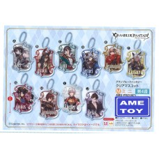 """Granblue Fantasy"" Clear Mascot set of 10 (Pre-order)"