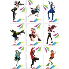 """""""Persona 3: Dancing Moon Night"""" A5 Size Clear File 9Pack BOX(Pre-order closed)"""