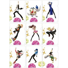 """""""Persona 4: Dancing All Night"""" A5 Size Clear File 9Pack BOX(Pre-order closed)"""