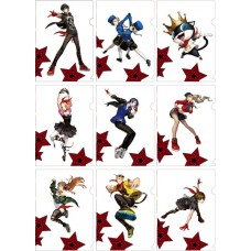 """""""Persona 5: Dancing Star Night"""" A5 Size Clear File 9Pack BOX(Pre-order closed)"""