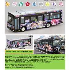 National Bus Collection 1/80 <JH033> Izuhakone Bus Love Live! Sunshine!! Wrapping Bus #3 Car