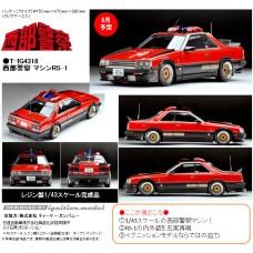 Ignition Model x Tomytec T-IG4318 Seibu Keisatsu Machine RS-1