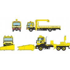 The Truck Collection Tomei Expressway Completely Opened 50th Anniversary NEXCO Central Nippon Expressway Service Vehicle 2Car Set(Pre-order)