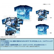 """Neptunia"" Full Graphic T-shirt Next Black Ver."