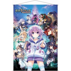 Brave Neptunia: Sekai Yo Uchuu Yo Katsumoku Seyo!! Ultimate RPG Sengen!! B2 Wall Scroll(Pre-order closed)