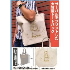 Kemono Friends 2 Serval Large Tote Bag /NATURAL