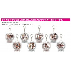 "Acrylic Key Chain ""Danganronpa V3 Killing Harmony"" 05 Christmas Ver. (Graff Art Design) 8Pack box(Pre-order closed)"