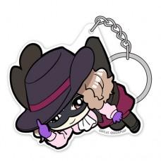 """Persona 5"" Noir Acrylic Tsumamare Key Chain"